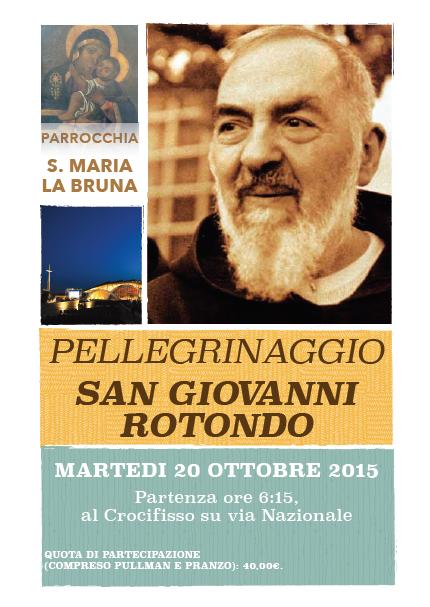Pellegrinaggio a San Giovanni Rotondo